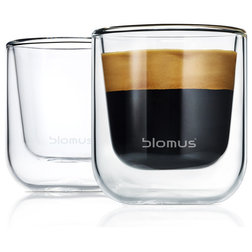 Contemporary Cappuccino And Espresso Cups by blomus
