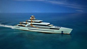 Mikado 90 - Megayacht Design & Visualisierung