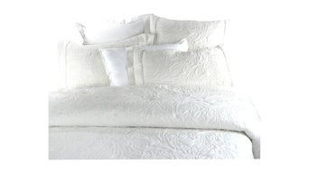 Winter Clouds, Soft Knit Cotton Comforter, Winter White, King