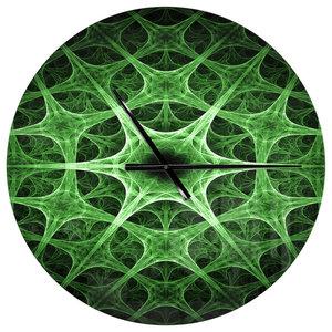 Geode Slice Macro Oversized Modern Metal Clock Contemporary Wall Clocks By Design Art Usa