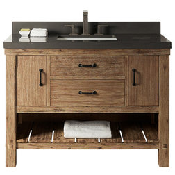 Transitional Bathroom Vanities And Sink Consoles by Luxx Kitchen and Bath