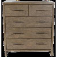 Avoca Reclaimed Pine 5 Drawer Dresser by Kosas Home