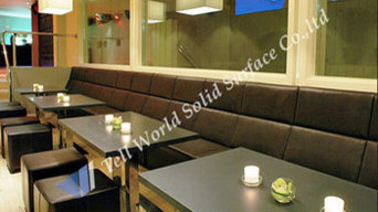 Restaurant and coffee table design