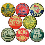 Vintage Soda Cap Cabinet Knobs, 8-Piece Set - Contemporary - Cabinet And Drawer Knobs - by ...