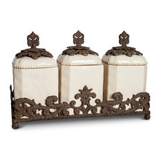 """Gg Collection 19.5 """" Triple Canister Set"""