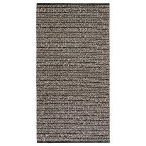 Uni Brown Vinyl Floor Cloth, 150x220 cm