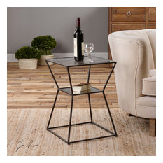 Uttermost Auryon Iron Accent Table