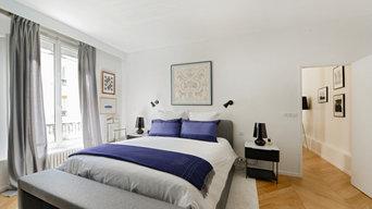 Rénovation d'un appartement de Luxe rue des Archives dans le Marais