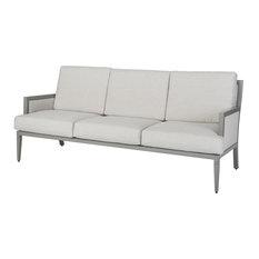 Drake Upholstered Sofa, Black, Cast Ash