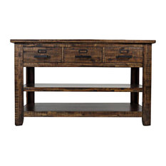 Jofran   Cannon Valley Sofa/Media Table   Console Tables