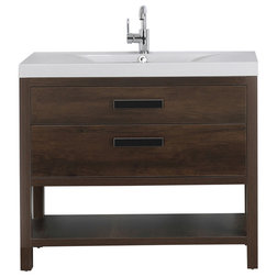 Contemporary Bathroom Vanities And Sink Consoles by Streamline
