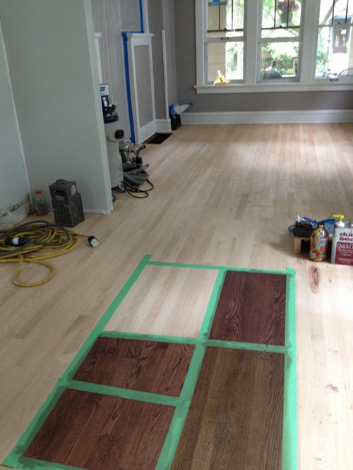 Red Oak Floors Is There A Way To Protect Them And Keep The Unstained Look