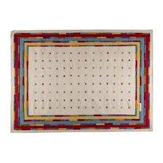 """Khema6 Rug, White Multi, 8'3""""x11'6"""""""