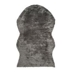 Madison Shag Floor Rug, Grey, 120x180 cm
