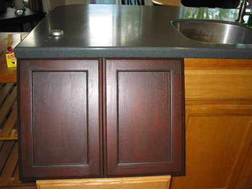 Would My Kitchen Be Too Dark If I Gel Stained My Oak?