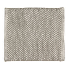 Handwoven Powder Grey Field Placemats, Set of 4