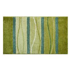 Medium Orly Bath Mat, Green, 60x100 cm