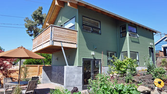 Houses on the 2015 Northwest Green Home Tour