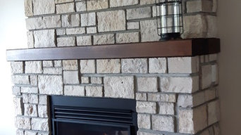Peterborough ON Living Room Gas Fireplace