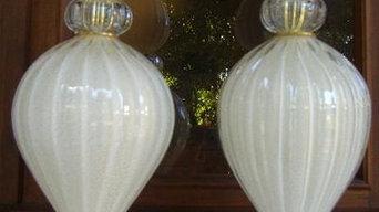 Murano Lamps Mid Century Design