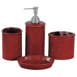Traditional Bathroom Accessory Sets by HiEnd Accents