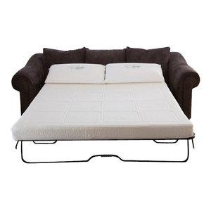 Slumber Sleeper Sofa Gel Foam Mattress Transitional
