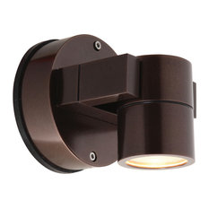 "Ko, 20351Mg, Wet Location Spotlight, Bronze/Clear, 4""x6""x4"", LED"