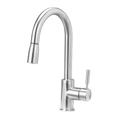Blanco 441649 Sonoma 1-Handle Pull-Down Kitchen Faucet, Stainless Steel