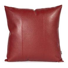 "Howard Elliott Avanti 20""x20"" Pillow, Apple Burgundy"