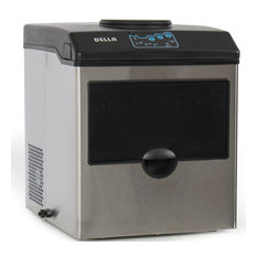 Della - 2in1 Water Dispenser With Built-In Ice Maker Machine Countertop up to 40lbs - Ice Makers