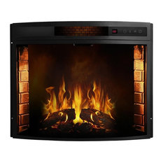 "Regal Flame 23"" Curved Ventless Heater Electric Fireplace Insert"