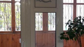 Размещение приточного клапана на окне
