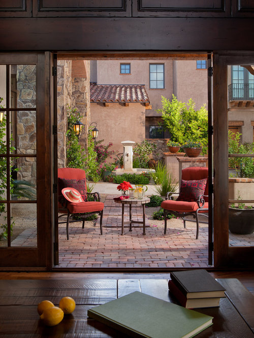Tuscan courtyards ideas, pictures, remodel and decor