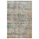 Butler Specialty Company - 5' x 7' Ultra-Soft Micro Polyester Artisan Old English Style Traditional Rug - Description: