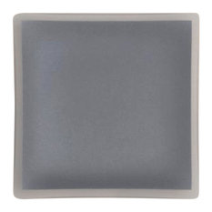 "7"" Square Plate Architect, Graphite"