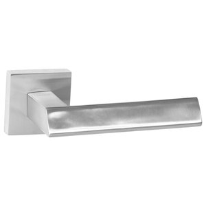 "Lever 136 Square, Passage Function, 2.05"", Marine Grade 316, Polished"