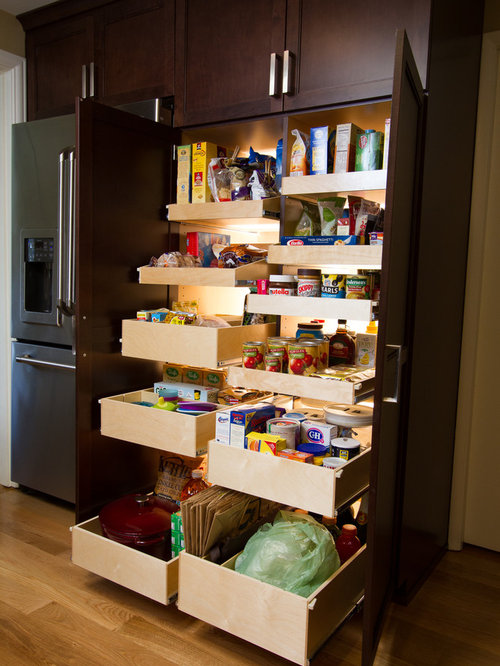 Pantry Pull Out Shelves