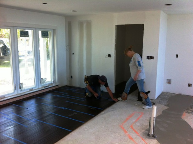 Ranch House Remodel Installing The Interior Finishes