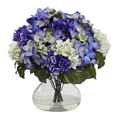 Hydrangea With Large Vase