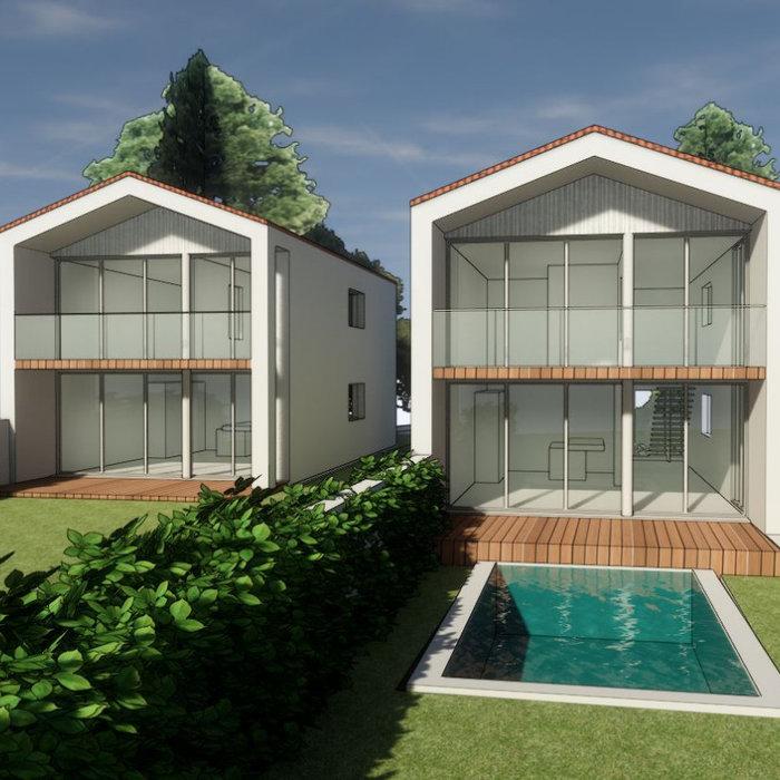 Projet Six Logements Résidentiels
