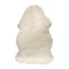 New Zealand Sheepskin Rug 2'x3', Natural