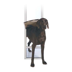 PetSafe Freedom Patio Panel, White, Large and Tall