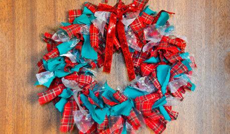 Cette année, fabriquez votre propre couronne de Noël !