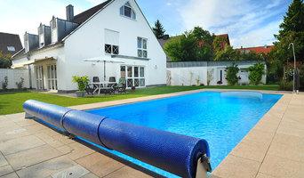 Schwimmbad im Garten / Mittelfranken