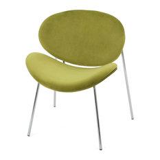New Velvet Chair in Green