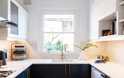Before & After: A New Tune for a Pianist's Art Deco Flat