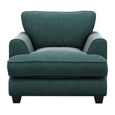 Madrid Armchair, Ocean Green