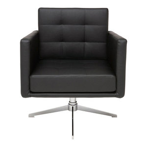 Maxwell Lounge Chair, Black