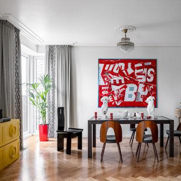 Квартира дизайнера
