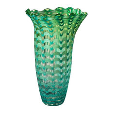 "14.5"" Waterfront Vase Tiffany"
